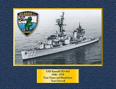 USS Sterett DLG-31 Custom Personalized Print of US Navy Ships Unique Gift