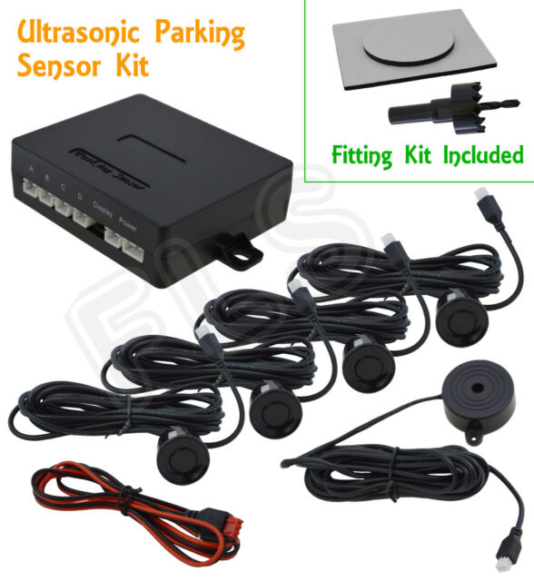 MERCEDES BACKUP RADAR PARKING REVERSE SENSORS SYSTEM KIT WITH SOUND ALERT