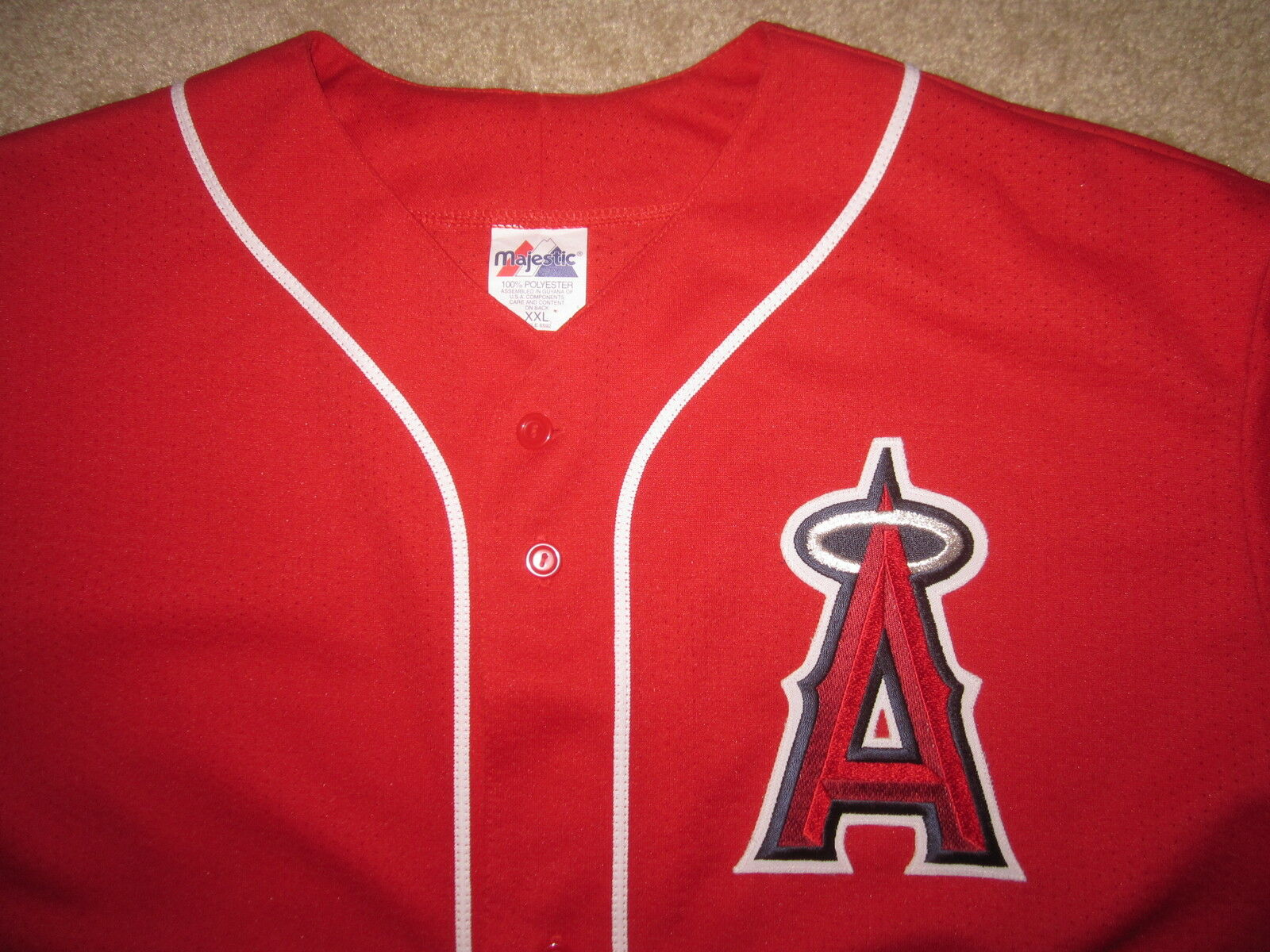 Troy Glaus  25 Anaheim Angels Angels Angels MLB Trikot 2XL 2c8acf