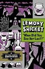 """All the Wrong Questions 2. """"When Did You See Her Last?"""" von Lemony Snicket (2013, Gebundene Ausgabe)"""