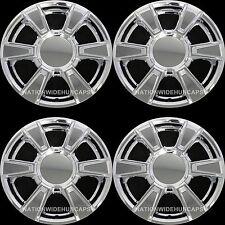 "4 CHROME 2010-2013 GMC TERRAIN 17"" Wheel Skins & Center Hub Caps New Rim Covers"
