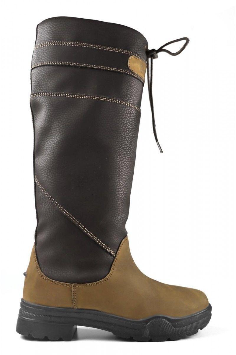 BROGINI Derbyshire largo país botas, Impermeable, informal, caminar, montar a caballo
