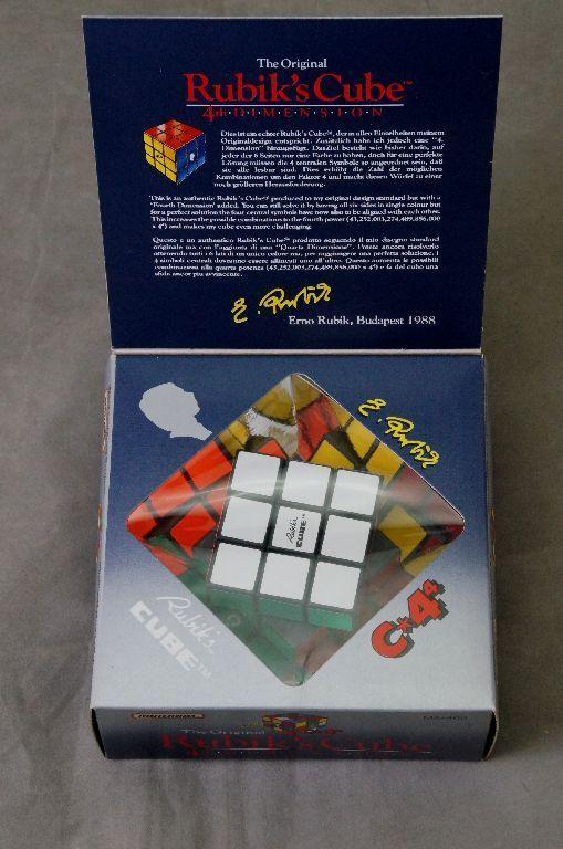 Rubik's Cube Magique Cube c4 MA 400 MATCHBOX 1988 neuf dans sa boîte neufs