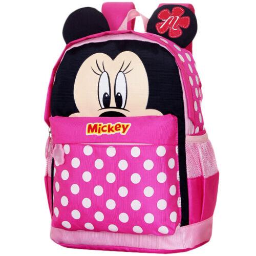 Toddler Kid Mickey Mouse Cartoon Printed School Bags Backpack Children Rucksack