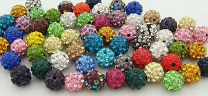 10mm-cz-Clay-Crystal-Disco-Ball-Make-Bracelect-Wholesale-Shamballa-Beads-U-PICK