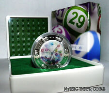 Niue 2012 Fortune Favours The Brave/ Lottery 1Oz Silver Proof Coin
