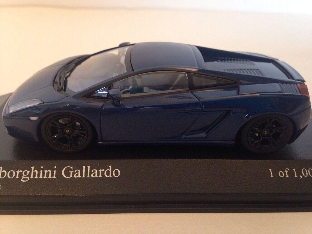 Minichamps 2006 Lamborghini Gallardo Gallardo Gallardo Azul Metálico 1 43 Scale Nuevo 1 De 1008 Pcs 523a8a