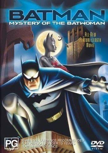 Batman Animated - The Mystery Of Batwoman (DVD, 2004)