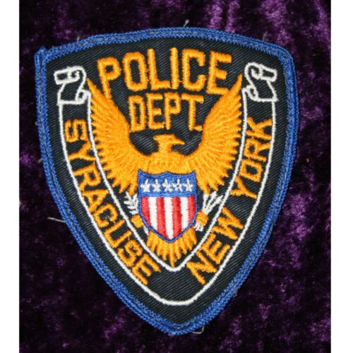 Collectible MultiColor Syracuse New York Police Department Patch