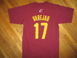 Anderson-Varejao-Cleveland-Cavaliers-17-Maglia-T-Shirt-Basket-Adidas-Piccolo