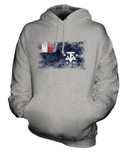 Französisch Southern und Antarktisch Landet Distressed Flagge