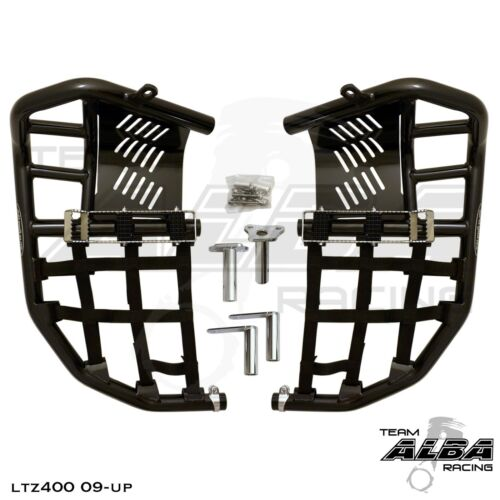 LTZ 400 KFX 400 DVX 400  Nerf Bar Nets Pro Peg   Fits Alba Tusk  Orange J