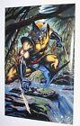 Rare 1995 original 34x22 X-Men Wolverine Logan Marvel Comics poster 184: 1990's