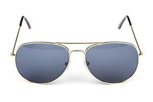 8ffe5c16c7 AÑOS 80 Piloto Aviador Gafas de sol doradas POLICE Disfraz Despedida ...