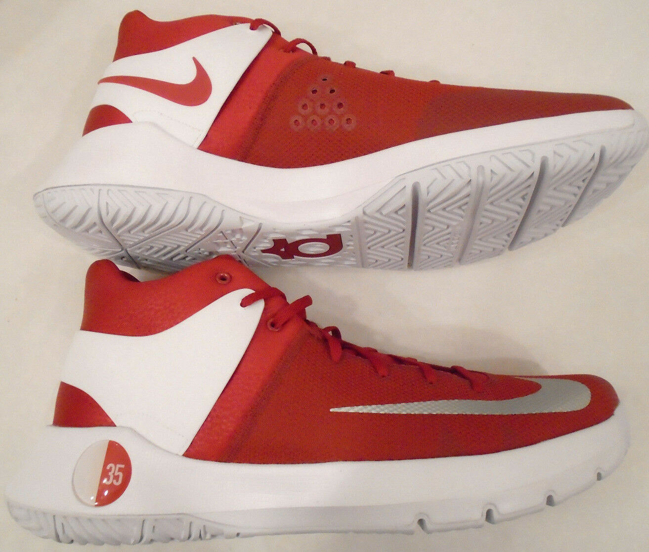 NEW Nike Mens 16.5 Kevin Durant KD Trey 5 IV Basketball Shoes Red 856484-661