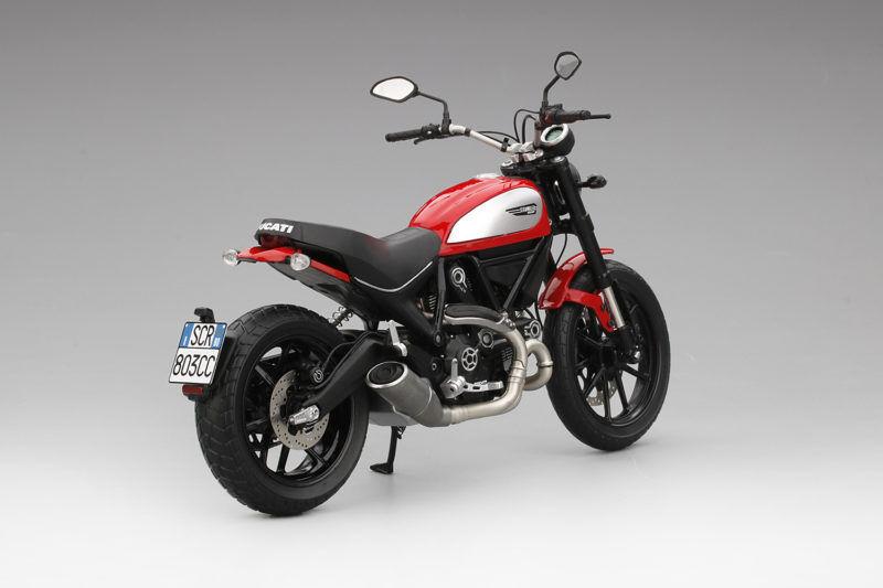 Ducati Scrambler 2015 rojo Ducati Moto Motorbike 1 12 12 12 Model 246f4b