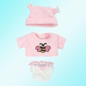 10-11 inch Reborn Doll Clothes Handmade Newborn Baby Dress Costume Set Gift