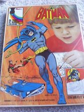 VINTAGE 1973 BATMAN OIL PAINT BY NUMBERS SET! NEVER USED! MIB!