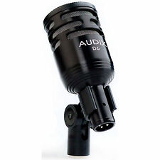 Audix D6 Cardioid Dynamic Instrument Kick Bass Drum Microphone D-6 D 6 - UN-USED
