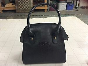 Image Is Loading Joop Medium Shoulder Bag Purse Black Leather Handbag