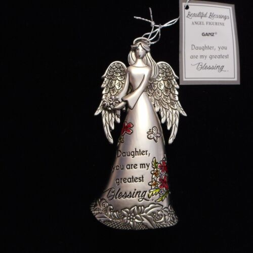 """you are blessing.../"""" by Ganz NEW Beautiful Blessings Angel Figurine /""""DAUGHTER"""