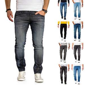 Jack-amp-Jones-calcetines-para-vaqueros-elasticos-senores-pantalones-Denim-Jeans-Hose-sale