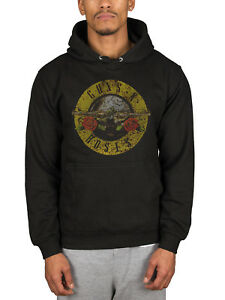 54642c1e0 Details about Official Guns N Roses Classic Logo Pullover Hoodie Use Your  Illision GNR
