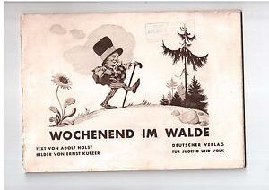Wochenend Im Walde Text von Adolf Holst Bilder Ernst Kutzer book for children - internet, Polska - Wochenend Im Walde Text von Adolf Holst Bilder Ernst Kutzer book for children - internet, Polska