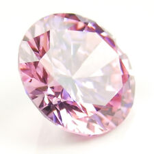 2 Carat Pink Diamond Color Round Russian Simulated Diamond Lab Created Gemstone