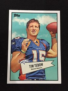 Details About Tim Tebow Rookie Topps Insert 2010 Denver Broncos Rc Uf Gators Football Card