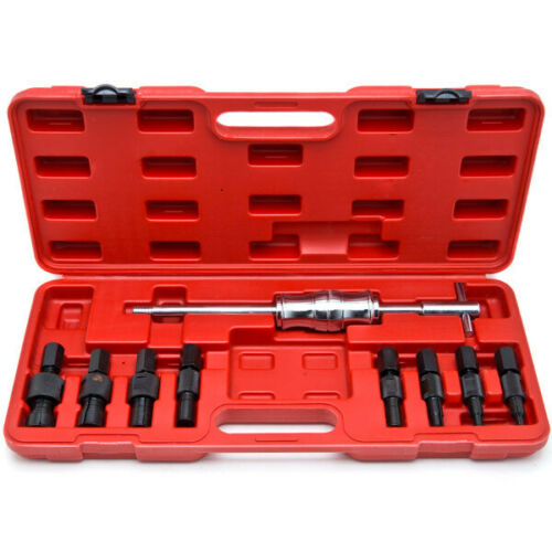 Blind Hole 10pc Slide Hammer Pilot Bearing Puller Internal Extractor Removal Kit