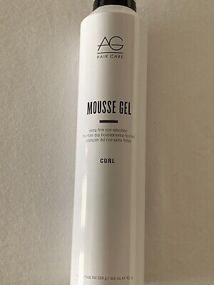 Ag Mousse Gel Extra Firm Curl Retention 10 Oz Ebay