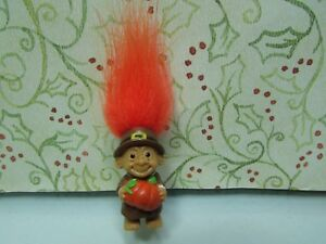 MINIATURE-PILGRIM-BOY-TROLL-1-034-Russ-Troll-Doll-NEW