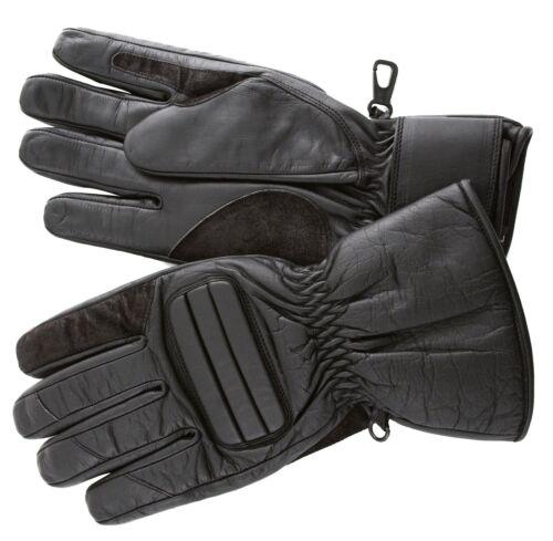 Roleff RO500 Motorradhandschuhe leichte Lederhandschuhe mit kurzer Stulpe
