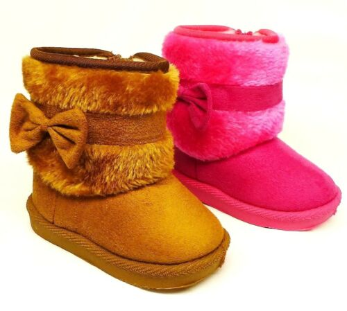 Baby /& Toddler Girls/' Fashion Plush Boots size 2 7 3 6 4 5