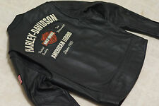 Harley Davidson Men's MADE IN USA Leather American Legend Jacket L 98135-05VM