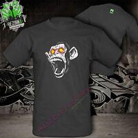 Affe Rage Wut Hass Ultras fun T-Shirt 100% Baumwolle schwere Qualität  S-3XL XXL