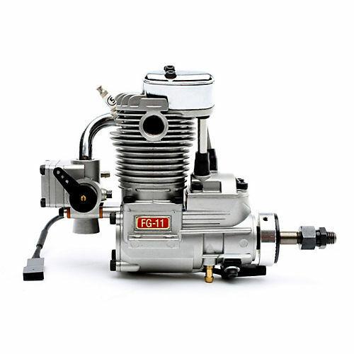 Saito Engines FG-11 11cc Single Cylinder 4-Stroke Gas Engine BZ SAIEG11
