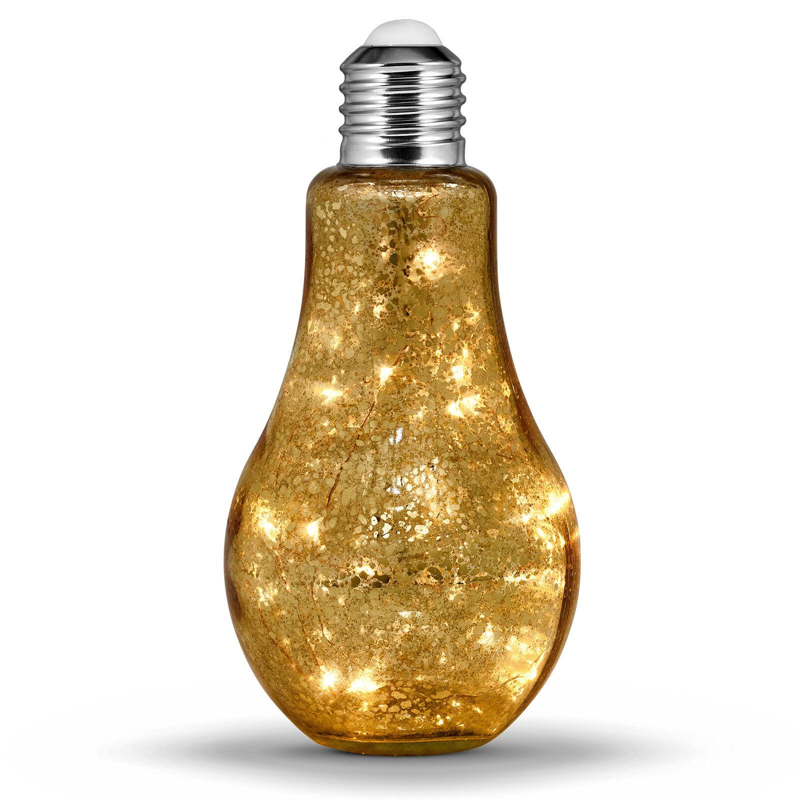 Globrite Crystal 20 Ampoule DEL DEL DEL Intérieur Table Batterie Lumière Parti décoration d'intérieur UK 717c80