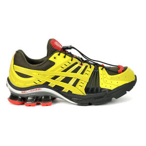 ASICS Men's Gel-Kinsei OG Affix Brown Stone/Kelp Running Shoes 1021A254.200 NEW