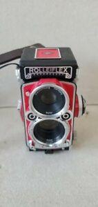RARE Red RolleiFlex MiniDigi (Mini Digi) AF5.0 Digital Camera $250