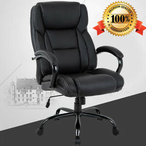 Prime Details About Big And Tall Office Chair 500Lbs Cheap High Desk Chair Ergonomic Computer Chair Machost Co Dining Chair Design Ideas Machostcouk