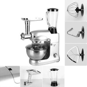 3-In-1-Stainless-Steel-Bowl-Meat-Grinder-Upgraded-Stand-Mixer-Blender-5L-Sliver