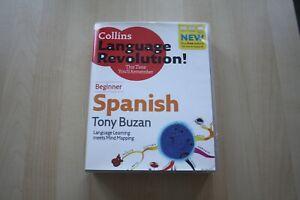 Collins-Spanish-Language-Revolution-Beginners-by-Tony-Buzan-CD-Audio-2008