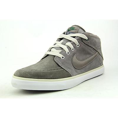 Nike Suketo Mid Leather Men US 8.5 Gray Sneakers Blemish  12273