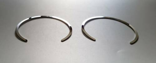 D Citroen C1 Chrom Ringe für Gebläseschalter Edelstahl poliert