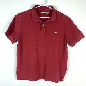 RM-Williams-Burgundy-Polo-Shirt-Size-Men-039-s-2XL-XXL
