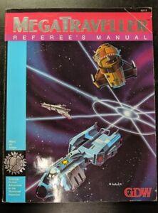 1x-MegaTraveller-Referee-039-s-Manual-Used-Damaged-RPG-Other