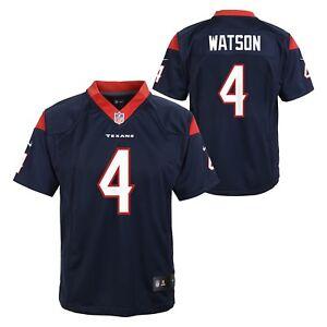 premium selection 8aea2 1ecb1 Details about Deshaun Watson Houston Texans NFL Nike Youth Navy Blue Game  Jersey
