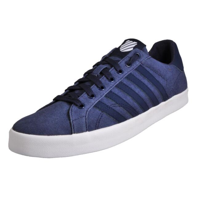 445004d66899 K-Swiss Belmont so T Hvy Canvas Navy Blue Men s SNEAKERS Shoes ...